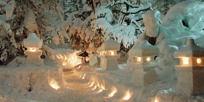 米沢 雪灯籠祭り