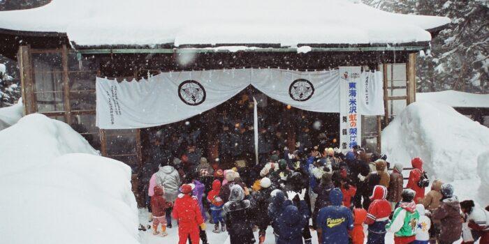 米沢上杉神社冬